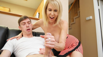 milf erica lauren and step son jerking